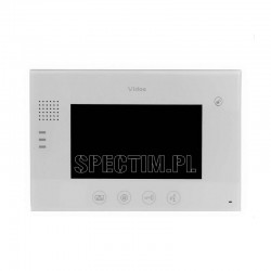 """M670W Monitor głośnomówiący 7"""" biały"""