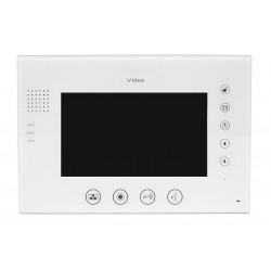 """M670WS1 monitor głośnomówiący 7"""" z pamięcią biały"""