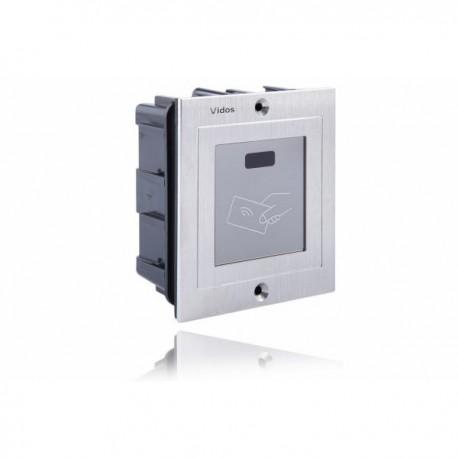 RFiD ZS600A Czytnik kart w stali szlachetnej