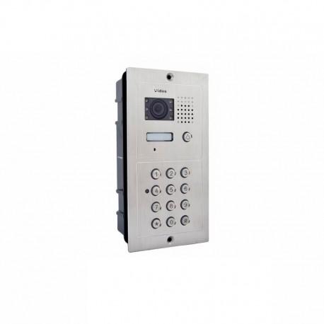 S562D  Stacja bramowa wideodomofonu z zamkiem szyfrowym VIDOS