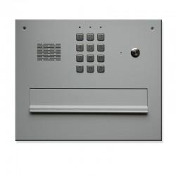 Skrzynka na listy z szyfratorem i domofonem lakierowana RAL