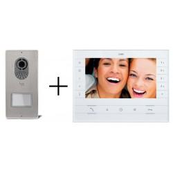 CAME PLACO V i LUXO X2 Zestaw wideodomofonowy cyfrowy z pamięcią