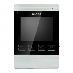 """M904S Monitor głośnomówiący 4"""" z pamięcią 4GB Vidos"""