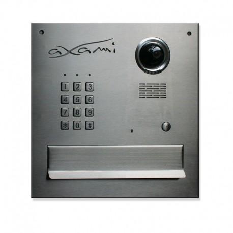 Skrzynka na listy  stal nierdzewna z kamera szyfratorem