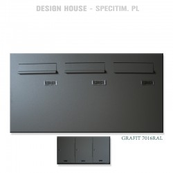 Skrzynki pocztowe pionowe do stolarki aluminiowej i PCV