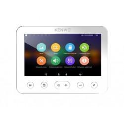 """KW-E706FC/W200-W  monitor głośnomówiący 7"""" z pamięcią"""