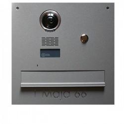 Skrzynka na listy do kamery Kenwei z czytnikiem RFID z napisem