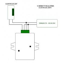 Czytnik breloków zbliżeniowych RFID do wbudowania