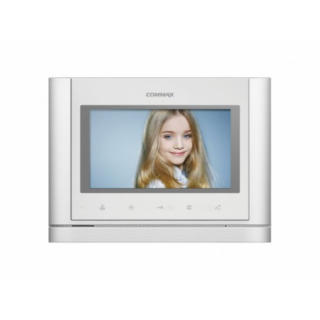 "CDV-70M WHITE monitor 7""  230V AC Commax"