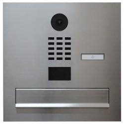 Stalowa skrzynka na listy do kamery IP  DOORBIRD D2101V