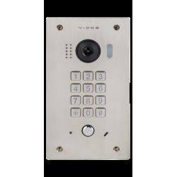 S1411D Vidos Stacja podtynkowa z kamerą  i szyfratorem