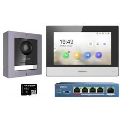 Hikvision DS-KIS602 (EU) jednorodzinny wideodomofon IP
