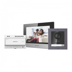 Hikvision DS-KIS702 (EU) dwużyłowy wideodomofon IP