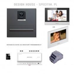 Zestaw skrzynka pocztowa z kamera IP Hikvision DS-KIS702