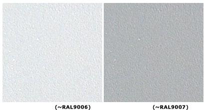 Kolor srebrny skrzynka na listy