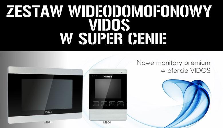 Monitory videodomofonowe Vidos